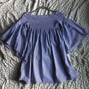 Zara bell sleeve dress/long shirt